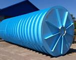 Горизонтальная подземная емкость на 100 кубов производство AlePlast